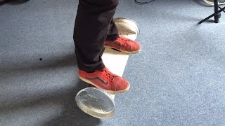 Homemade hoverboard / hands free two wheeled balancing product thing