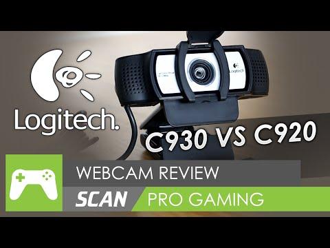 Logitech C930e Full HD 1080p Webcam Review vs C920