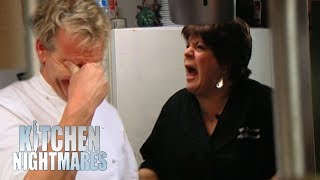 Ramsay Stunned As Food Left at the Pass For OVER 11 MINUTES!   Kitchen Nightmares