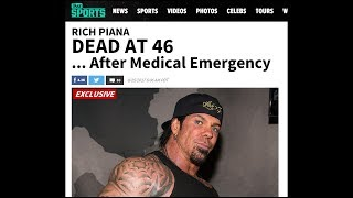 BREAKING NEWS.....Rich Piana Has Passed Away at 46