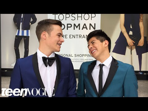 Gay Teen and Straight Best Friend Have the Best Prom Ever   Teen Vogue