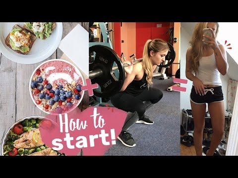 Start in den Fitness Lifestyle | Komplettes Training + Rezept!