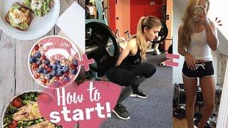 Start in den Fitness Lifestyle | Komplettes Training + Rezept!