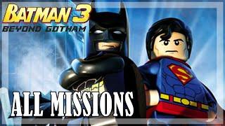 Lego Batman Beyond Gotham - All missions   Full Game