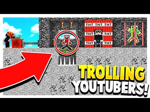 10 WAYS TO TROLL MINECRAFT YOUTUBERS actually works
