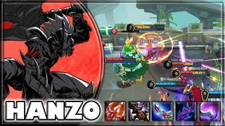 UNKILLABLE HANZO [by bcexbble6y] BUILD & GAMEPLAY ~ TOP 2 GLOBAL ~ MOBILE LEGENDS