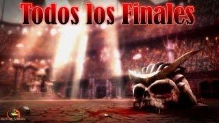 Mortal Kombat 9: Todos los finales (Incluidos DLC) - Español - PC - HD