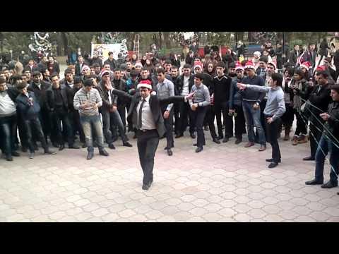 Super Azeri Dance. BDU Yeni il 2012 Baku Azerbaijan