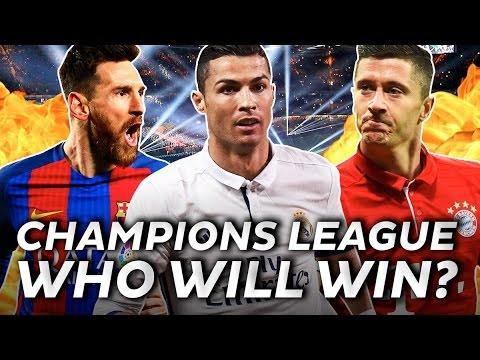 Who will win the 2017 UEFA Champions League