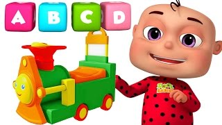 ABC Train Song For kids | Alphabet Train With Five Little Babies | Five Little babies Collection