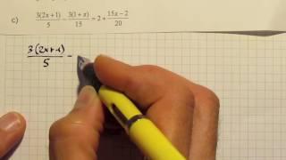 Soluzione equazioni prova esame III media 2015
