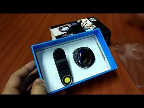 Apexel 85mm 3X zoom telephoto portrait universal phone lens [Unboxing, Samples, Comparison]