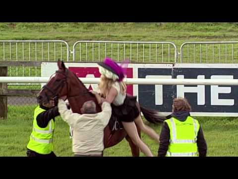 Girl steals horse on ladies day