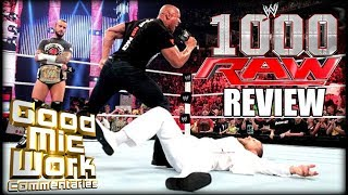 WWE RAW 1000 July 23, 2012 REVIEW | GoodMicWork Commentaries