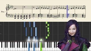 Dove Cameron - Genie In A Bottle (Disney) - Piano Tutorial + Sheets