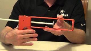 Types of Caulk Guns - Drip Free Caulk Gun