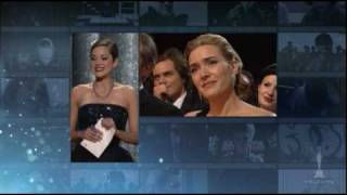 Kate Winslet winning Best Actress for