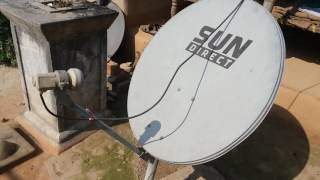 Abs Free Dish Amazing Installation Process, Easy Installation With Mobile Compass in Hindi