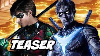 Titans Season 1 Teaser and Trigon News Explained
