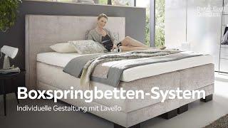 Boxspringbett-System LAVELLO - Dieter Knoll Collection bei XXXLutz