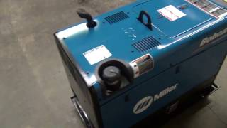 Miller Bobcat 225 welder generator unboxing and first weld