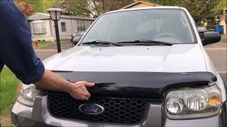 Ford Escape/Mazda Tribute Hood Deflector Installation Video