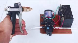 How to make Portable Bike - Car Washer