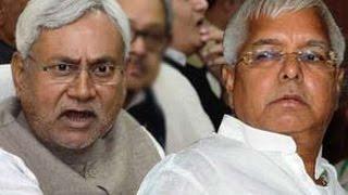 First political churn hits Bihar