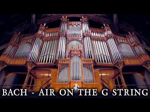 JS BACH AIR ON THE G STRING WHITWORTH HALL ORGAN THE UNIVERSITY OF MANCHESTER JONATHAN SCOTT