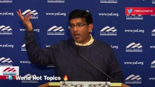 Dinesh D'Souza Answers Some Hot Questions At Brandeis University