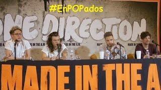 ONE DIRECTION Conferencia de prensa México COMPLETA #MadeInTheAM #1DPremiosTelehit #EnPOPados #1DMX