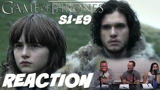 Game Of Thrones S1-E9 REACTION!