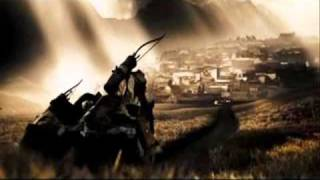 Powerful Movie Scenes - 300 - Persians Ride into Sparta