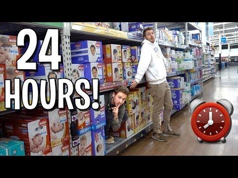 24 HOUR OVERNIGHT FORT CHALLENGE ft. Ireland Boys