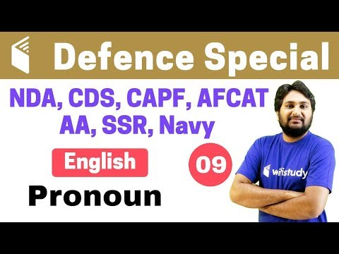 Xxx Mp4 7 00 PM CDS Crash Course Defence Special English By Harsh Sir Day 09 Pronoun 3gp Sex