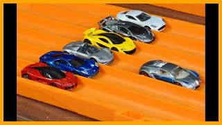 Hot Wheels Bugatti Veyron vs 6 Hypercar Exotics