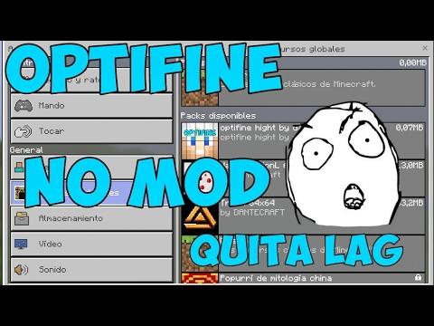 Optifine 0℅ Lag truco para Minecraft PE 1.x.x.x