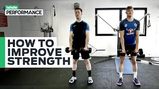 Strength Training For Football | Full-Body Gym Workout | You Ask, We Answer
