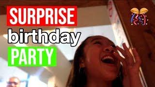 MY SURPRISE BIRTHDAY PARTY!! Vlogmas Day 9!! Nicole Laeno