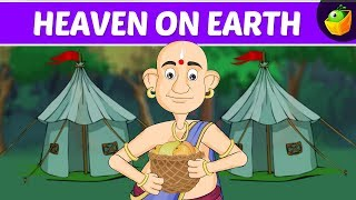 Heaven on Earth | Tenali Raman In English | Animated Stories For Kids