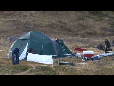 Cabela s Alaskan Guide Model Tent Storm Test. Hurricane Force Winds hit Kodiak Island Alaska
