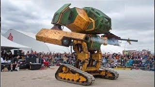 8 روبوتات عملاقة هي الاكبر في العالم ...احجامها لا تصدق
