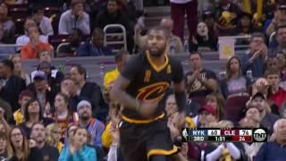 Cleveland Cavaliers vs New York Knicks - October 25, 2016