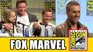 Fox Marvel Comic Con Panels - Deadpool, X-Men Apocalypse, Fantastic Four