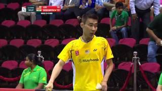 2014 Thomas Cup - Group C: Malaysia - Lee Chong Wei vs India - K. Srikanth