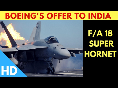 Boeing F/A-18 Super Hornet To India