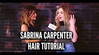 How Does SABRINA CARPENTER Do Her Hair?!