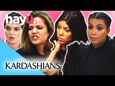 Best Kardashian Fights Part 2 Keeping Up With The Kardashians