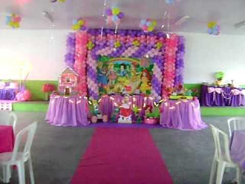 Cris festas &buffet 3622 2538 Decoração Princesinhas