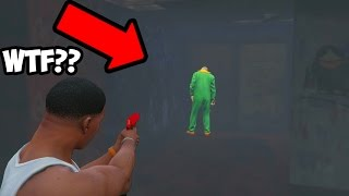 GTA 5 SECRET HIDDEN KILLER CLOWN FOUND IN ABANDONED MOTEL! (GTA 5 ONLINE)